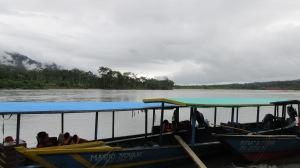 Cruising down the Rio Alto Madre de Dios