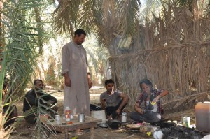 Have a cup of hot tea with the Bedouin- Egypt