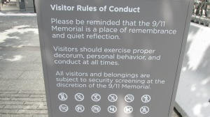 Visitor Rules of Conduct. Can we have such thing at the entrance of Timpohon Gate, at least?